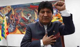 Bolivia: TSE declaró ganador a Evo Morales en primera vuelta