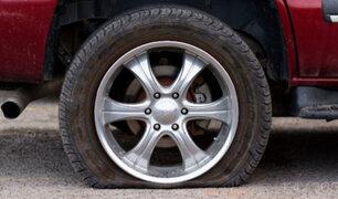 Cañete: transportistas desinflan llantas de autos colectivos