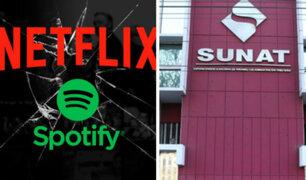 Usuarios pagarían más tras cobros de impuestos a Netflix y Spotify en Perú