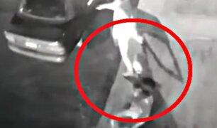 Comas: joven es violentamente atacada por delincuentes mediante la modalidad del 'arrastre'