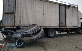 Tragedia en Huarmey: familia muere en brutal accidente vehicular