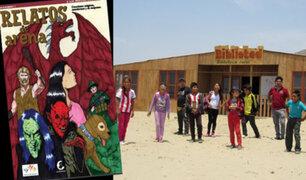 Áncash:  niños de zonas rurales publican libro de cómics