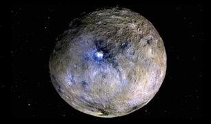Asteroide fue ascendido recientemente a la categoría de planeta enano
