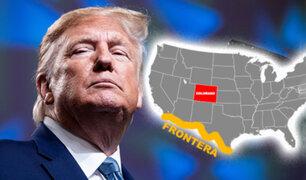 Trump promete construir muro en Colorado, pero estado no tiene frontera con México