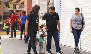Miraflores: rescatan a niños que eran utilizados para vender golosinas en las calles