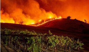 California en llamas: nueve incendios forestales azotan el estado