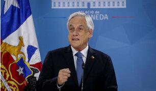 """Sebastián Piñera: """"Todos hemos escuchado el mensaje, todos hemos cambiado"""""""
