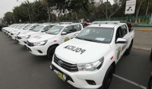 270 nuevos patrulleros reforzarán seguridad ciudadana en Lima y Callao