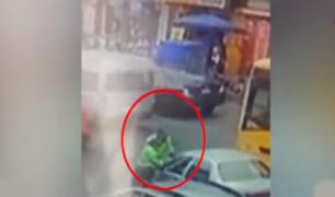Hasta 12 años de pena afrontaría conductor que embistió y arrastró a policía