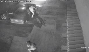 """Comas: joven universitaria que fue víctima de robo por """"arrastre"""" quedó en shock"""