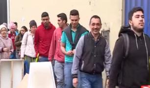 Cercado de Lima: extranjeros hicieron largas colas para tramitar antecedentes policiales