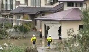 Al menos 10 muertos dejan intensas lluvias en Japón
