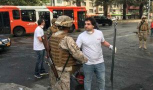 Chile: Ejército levanta toque de queda en Santiago