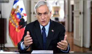 Chile: Piñera llama al país a salir de crisis y enfrentar violencia