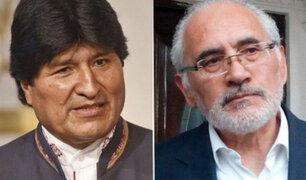 Bolivia: candidato opositor desconoce triunfo electoral de Evo Morales