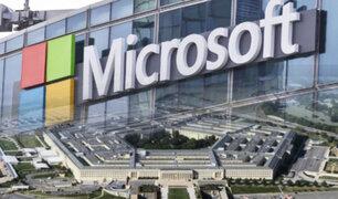EEUU: Pentágono otorga un contrato de 10.000 millones de dólares a Microsoft