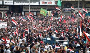 Irak: más de 40 muertos en violentas manifestaciones antigubernamentales