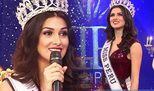 """Miss Perú 2019: Kelin Rivera engalanó el set de """"Porque hoy es sábado con Andrés"""""""