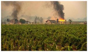 California: ordenan evacuación de más de 180 mil personas por incendios