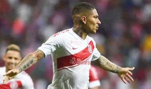 Paolo Guerrero marca gol luego de 145 días en el Brasileirao