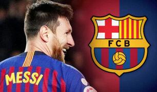 Lionel Messi no piensa dejar el Barcelona