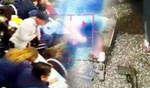 EXCLUSIVO | Imágenes inéditas de violento asalto a 54 personas en solo tres minutos
