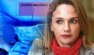 Luciana León habría ayudado a 'Intocables ediles' ante Ministerio de Vivienda