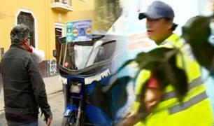A Lima se le respeta: infractores hacen de las suyas en el Centro de Lima