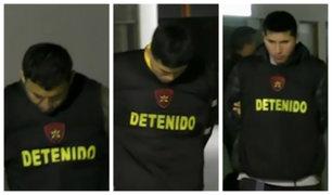 Los Olivos: detienen a presuntos 'raqueteros' tras persecución policial