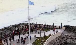"""Chorrillos: así fue la inauguración del mirador """"Gran bahía de Lima"""""""