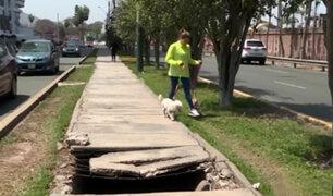 Surco: reparan acequia sin tapa que ponía en peligro a vecinos