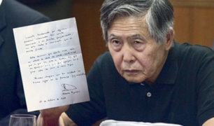 """Alberto Fujimori pide apoyo en el """"gran reto de unir a sus hijos"""""""