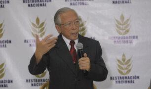 Elecciones 2020: Restauración Nacional no participará en próximos comicios