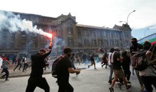 Santiago de Chile: manifestaciones no cesan tras juramentación de nuevo gabinete