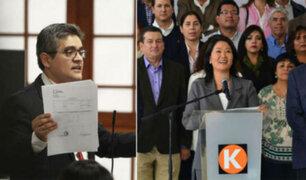 Ante pedido de Domingo Perez: ¿Es posible que suspensión de Fuerza Popular por tres años prospere?
