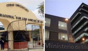 Minedu mostró apoyo a Universidad Gonzaga de Ica: acompañaremos a que logre licenciamiento
