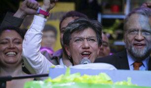 Colombia: Bogotá elige por primera vez una mujer alcaldesa