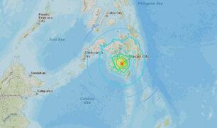 Filipinas: Fuerte sismo de 6.6 se registró al sur