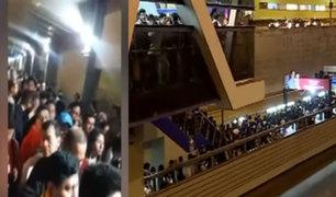 Metropolitano: usuarios denunciaron caos en estaciones por falta de buses