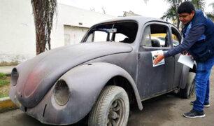Magdalena: colocan multas educativas a dueños de vehículos abandonados