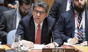 Canciller Meza-Cuadra: Recursos para atender migración venezolana han sido desbordados