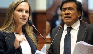 Apra evalúa reemplazar a Luciana León por Velásquez Quesquén en la Comisión Permanente