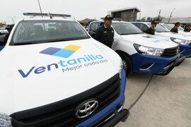 Entregan 40 unidades para reforzar patrullaje integrado en Ventanilla