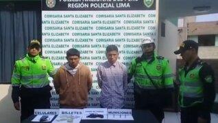 Caen integrantes de banda criminal 'Los Fríos Huáscar' tras asaltar a repartidor de helados