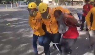 Chile: hieren con balines a observador de Derechos Humanos durante protestas