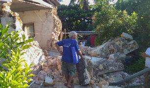 Filipinas: seis fallecidos y más de 100 heridos dejó sismo de 6,6 grados