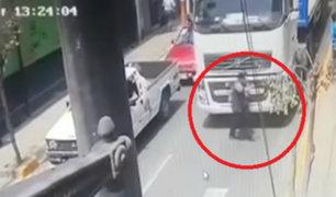 Amputan brazo a mujer que fue atropellada por tráiler en Ate