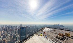 EEUU: mirador a 335 mtrs de altura sorprende a visitantes