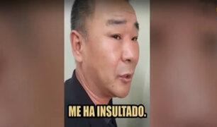San Miguel: ciudadano chino relata por qué asesinó a su compatriota