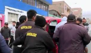 Comas: incidentes durante operativo contra mototaxis informales